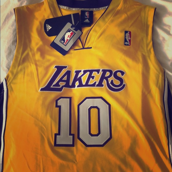 Authentic Adidas Lakers Steve Nash Jersey